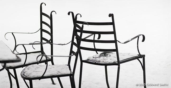 chairs, waiting, for spring