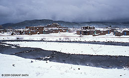 2009 December 18, Taos Pueblo snow