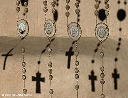 Rosaries at the St Francis Church