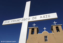 St Francis Church in Ranchos de Taos