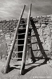 2010 October 30, Acoma Pueblo ladder