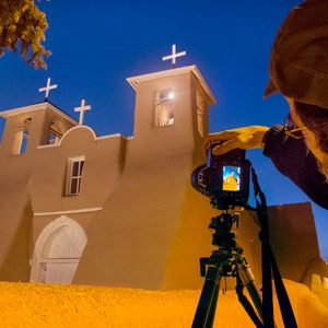 Saint Francis Church ranchos de taos © Geraint Smith