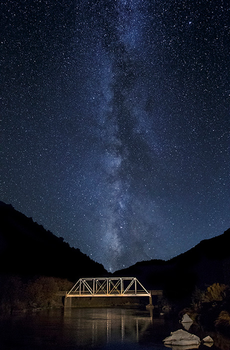 John Dunn Bridge Milky Way