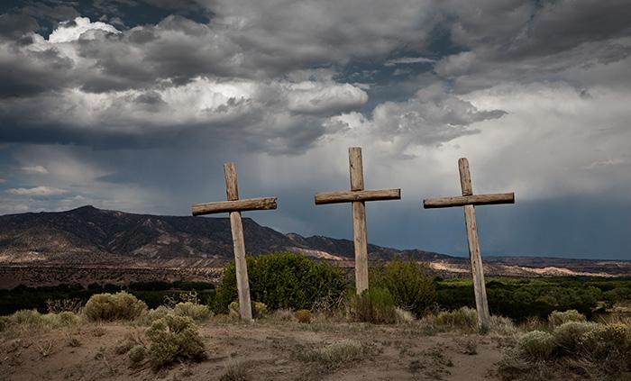 Three Crosses Abiquiu #1