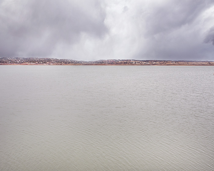 Abiquiu Lake Winter Flurries