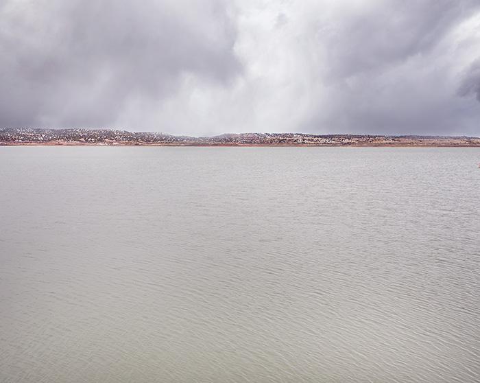 Abiquiu Lake Winter Flurries