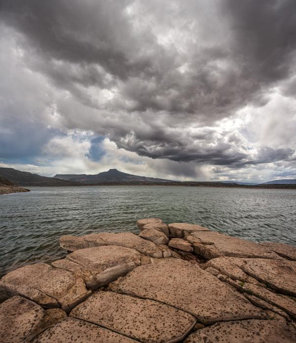 Abiquiu Lake Storm