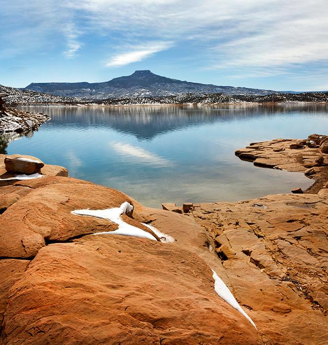 Abiquiu Lake Winter