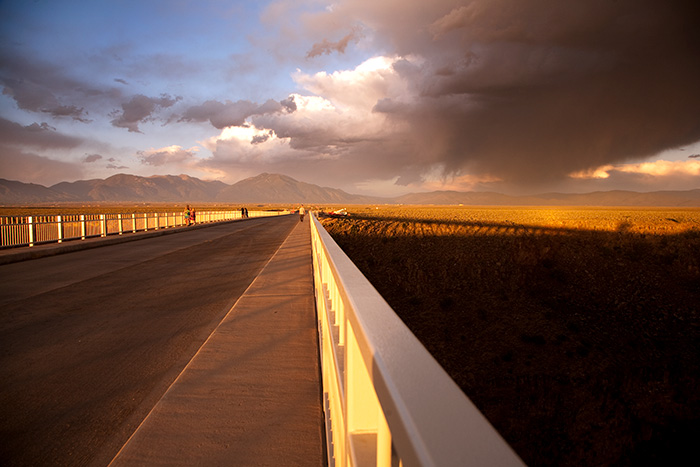 Gorge Bridge Sunset