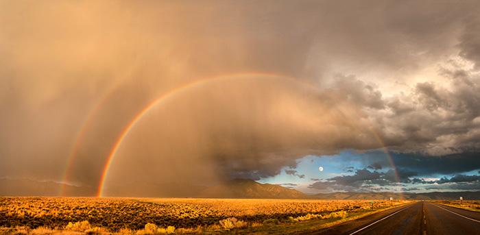 Harvest Moon Rainbow