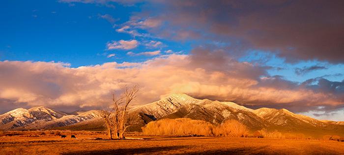 Taos Mountain Sunset