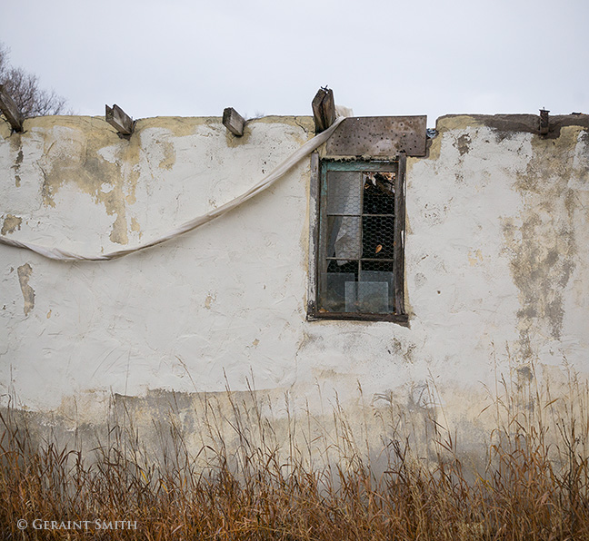 Adobe abode taos new mexico abandoned building