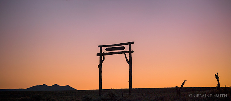 Three Peaks Ranch Gate