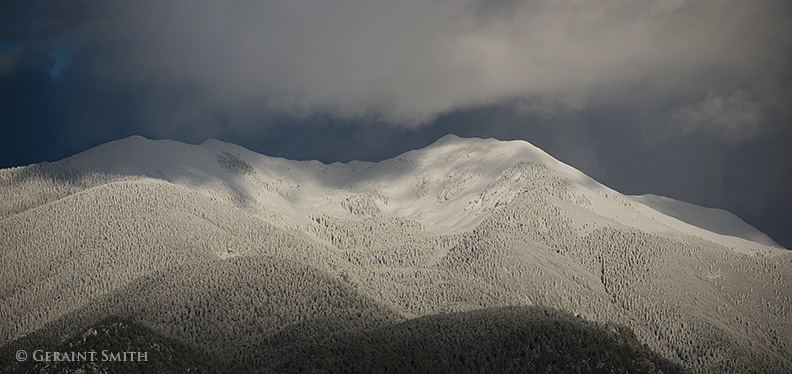 Vallecito Cornwomen Mountain Snows Taos New Mexico
