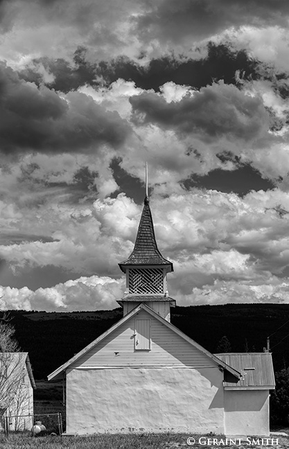 Church in Chacon New Mexico