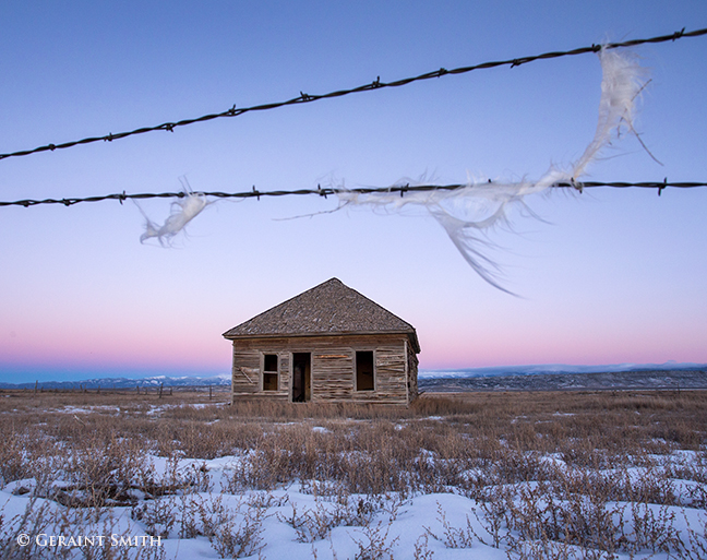 Abandoned homestead, San Luis Valley, Colorado.