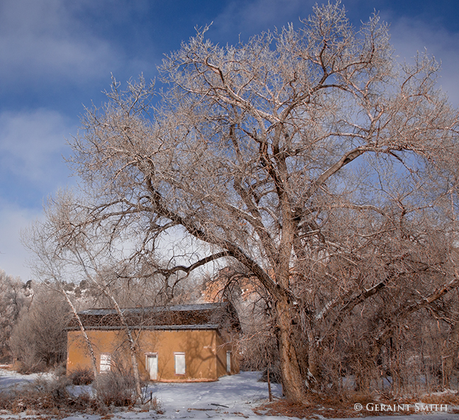 Winter In Questa New Mexico Geraint Smith Photography
