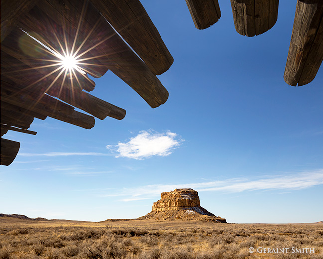 Fajada Butte chaco culture national historical park