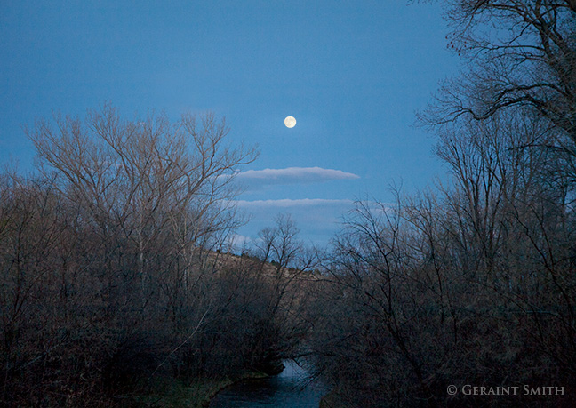 moonrise cimarron river new mexico