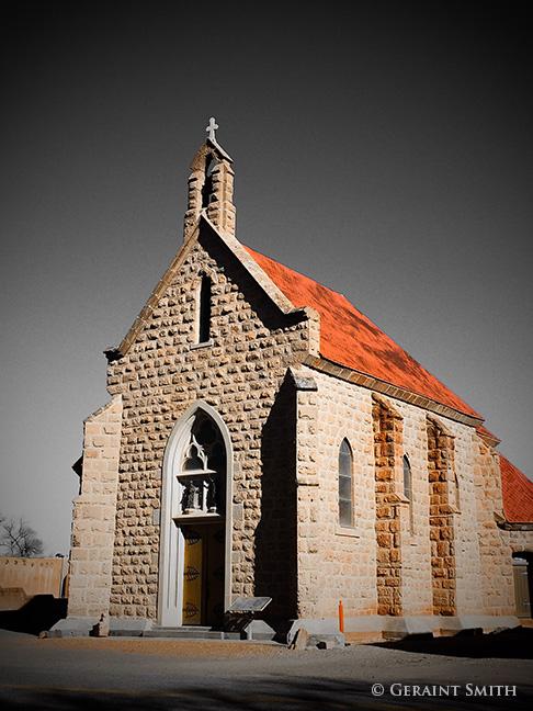 Shrine of Our Lady of Lourdes , San Juan Parish, Ohkay Owingeh Pueblo, New Mexico