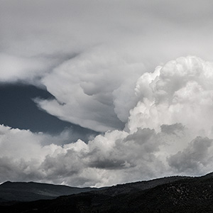 Fish shape in the clouds