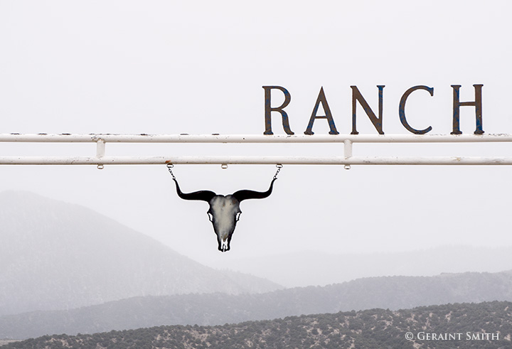 ranch gate san luis colorado ranch