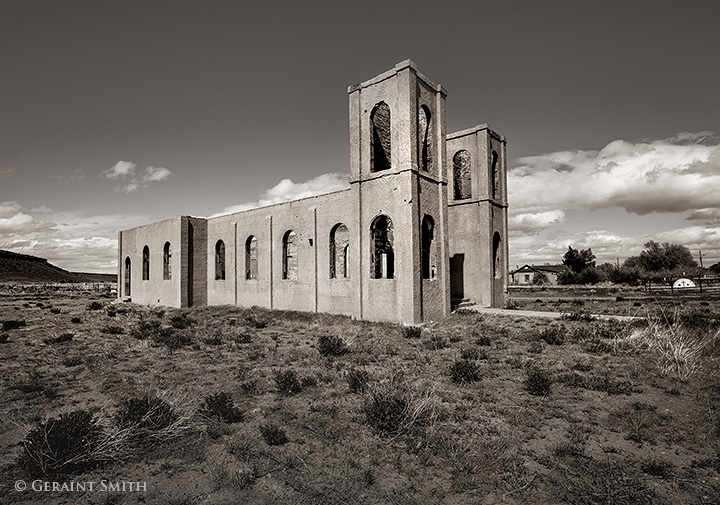 San Isidro Church las mesitas colorado