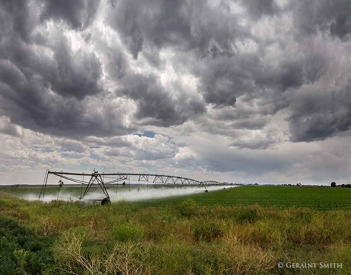 Pivot Irrigator Fort Garland Colorado