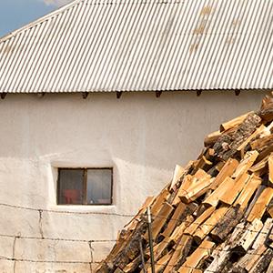 Big Pile Of Wood Llano De San Juan