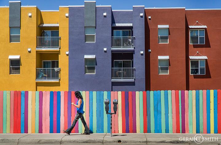 Walking Man In Color