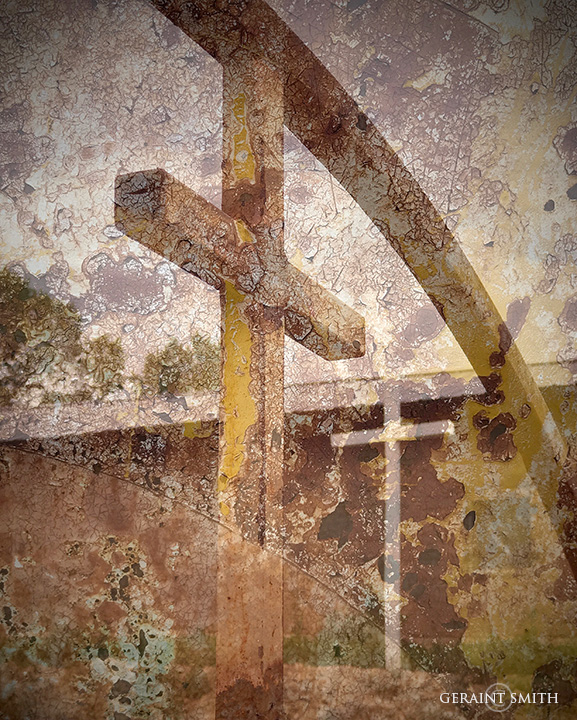 Through the veil of decay two crosses