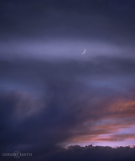 Fall Equinox Crescent Moon