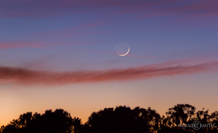 sliver of a crescent moon