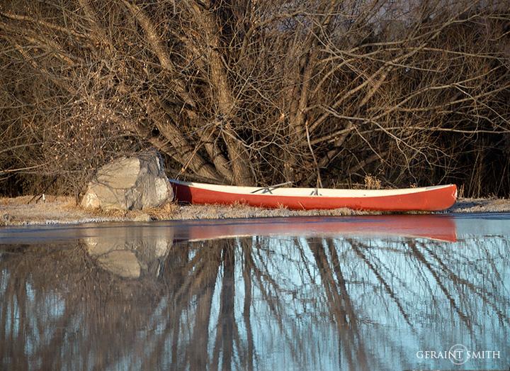 Red Canoe Arroyo Hondo