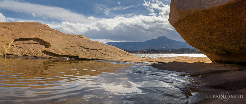 Cerro Pedernal, Abiquiu Lake