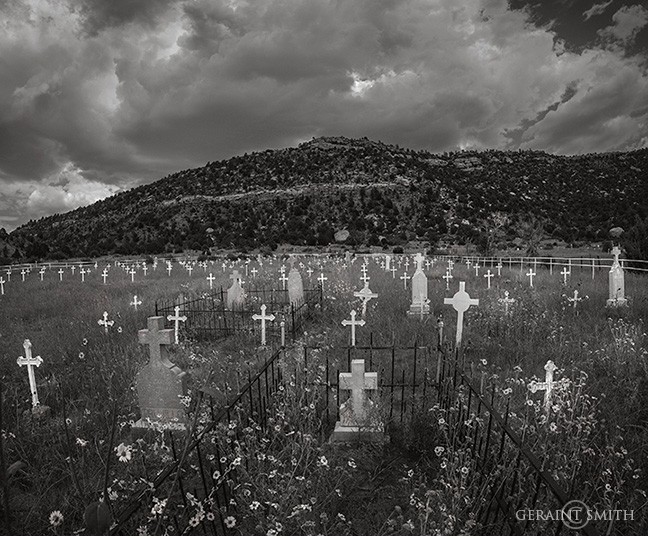 Dawson cemetery, New Mexico.