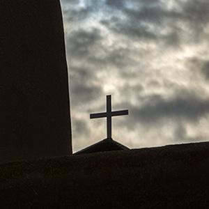 A Moody Morning Sky, St. Francis Church