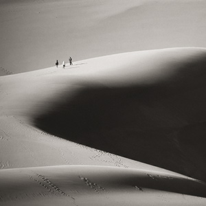 On The Back Of A Sand Dune, Great Sand Dunes NP