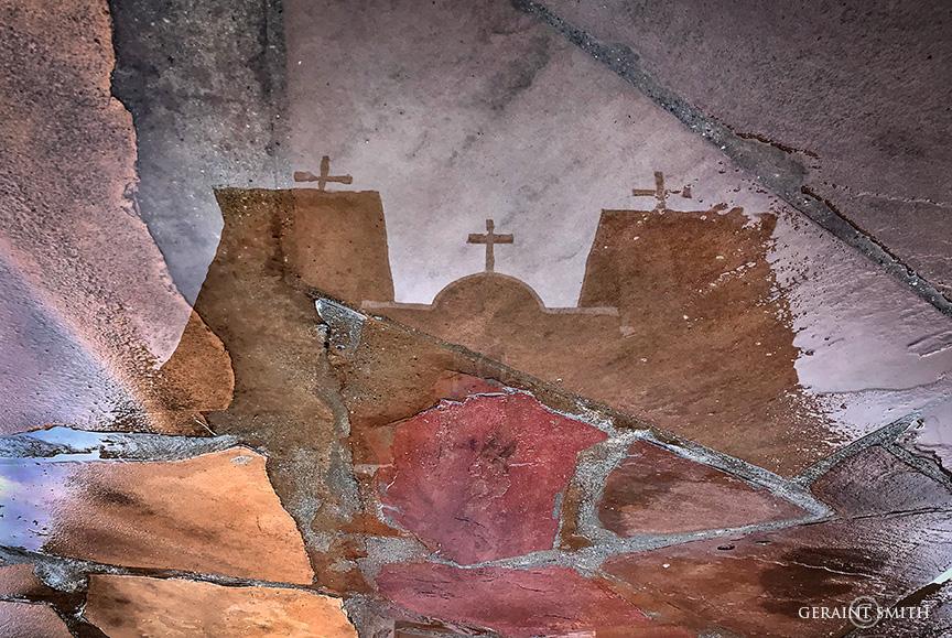 Reflections at the San Francisco de Asis Church