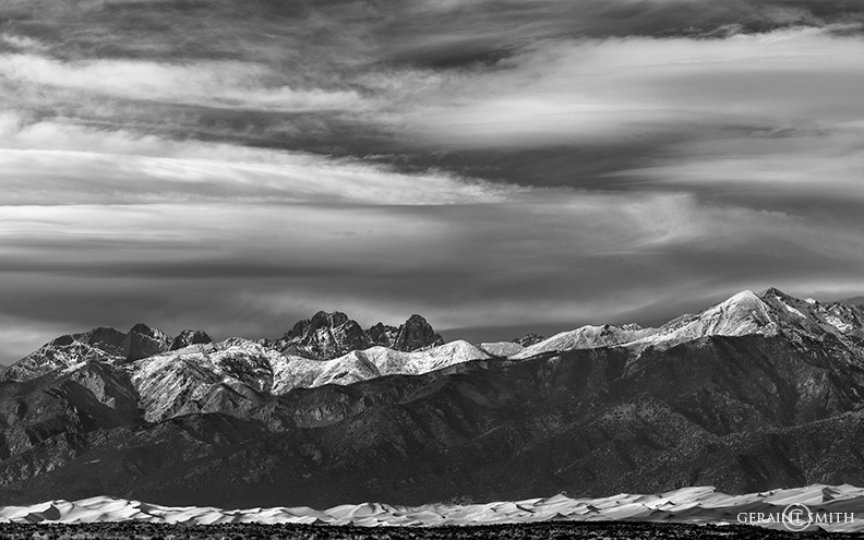 Sangre de Cristo Mountains and Great Sand Dunes