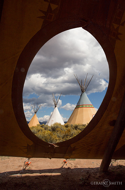 Window On The Tipis