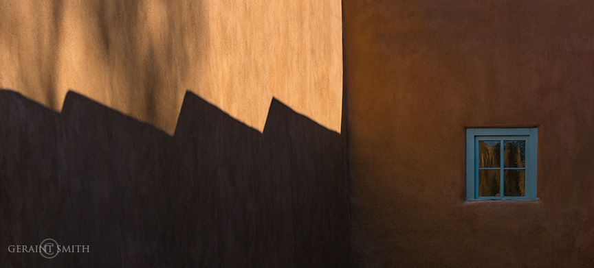 Morning Shadows, Downtown Taos