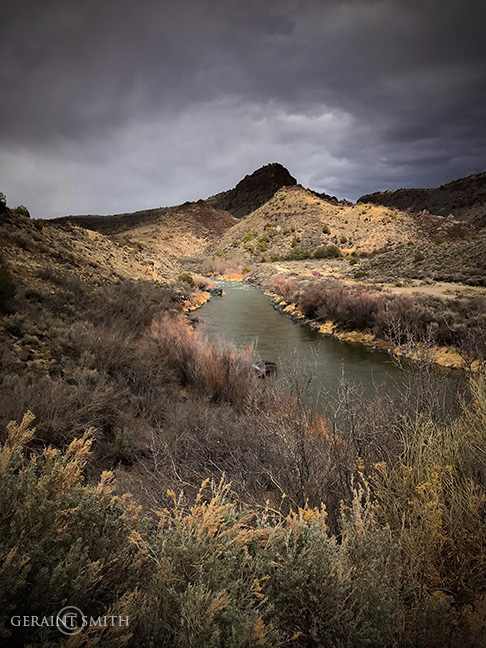Rio Grande In The Orilla Verde Recreation Area