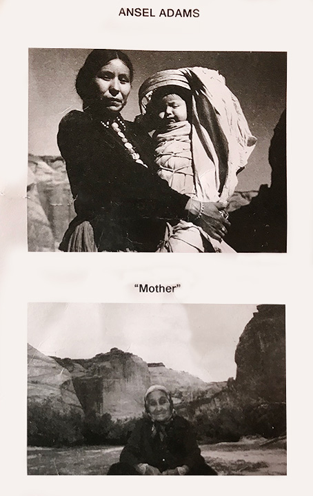 F. Ted Henry navajo mother and infant