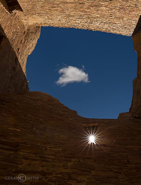 Sun Star, Pueblo Bonito, Chaco Canyon