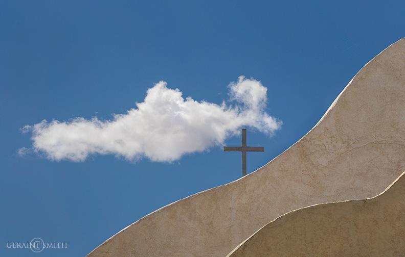 Chapel And Cross, San Ysidro NM