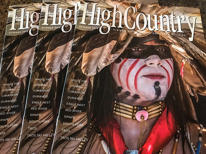 Hawk Media High Country magazine cover image