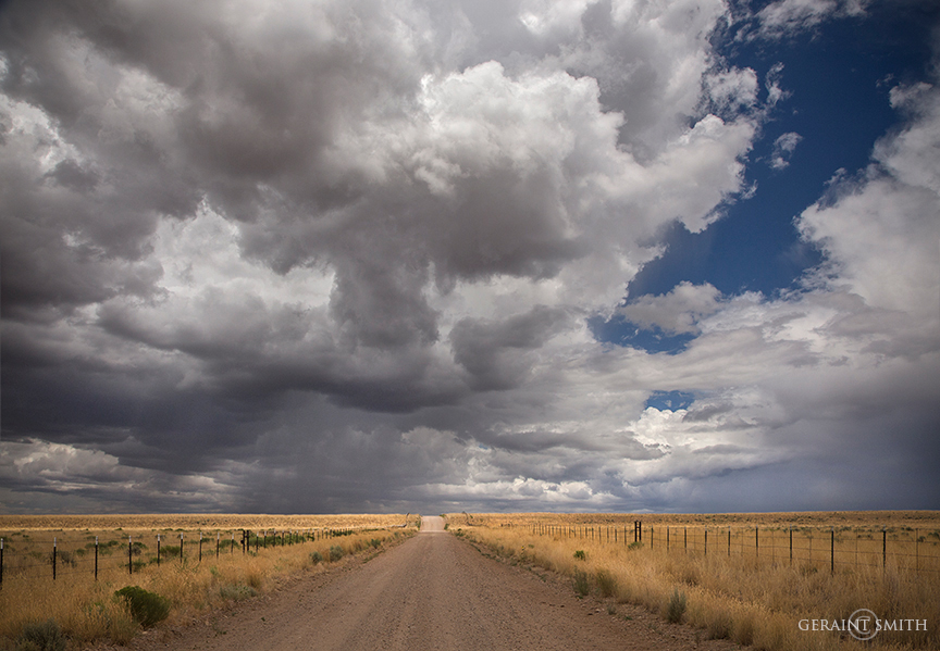 State Line Road New Mexico, Colorado Border