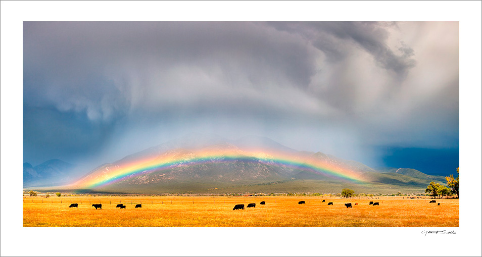 El Prado Rainbow Taos Mountain
