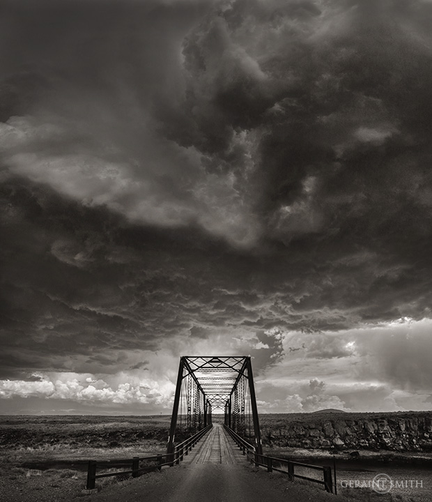 Lobatos Bridge, Across The Rio Grande